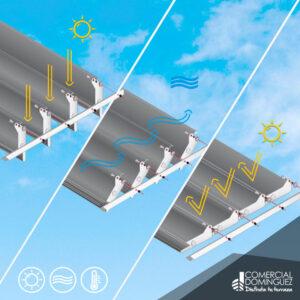 techos de terrazas, pergolas bioclimaticas