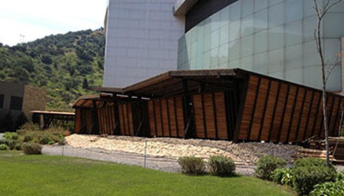 Terrazas de madera, Casino Monticello, comercial dominguez