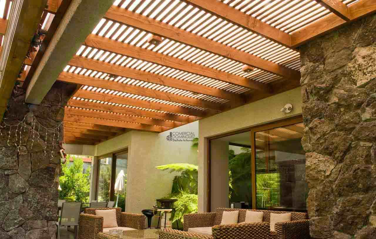 terrazas en madera, comercial dominguez