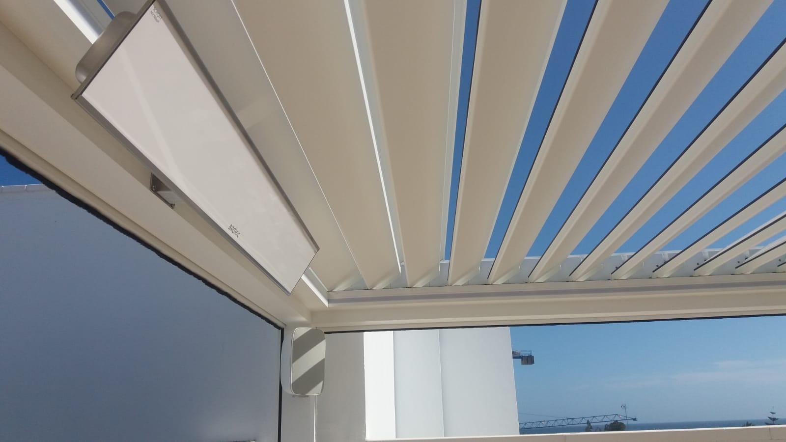 Calefactores de Exterior, Pergola Bioclimatica, bromic