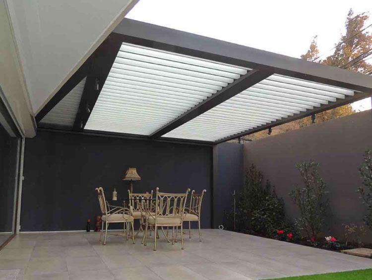 pergola bioclimatica, terraza bioclimatica